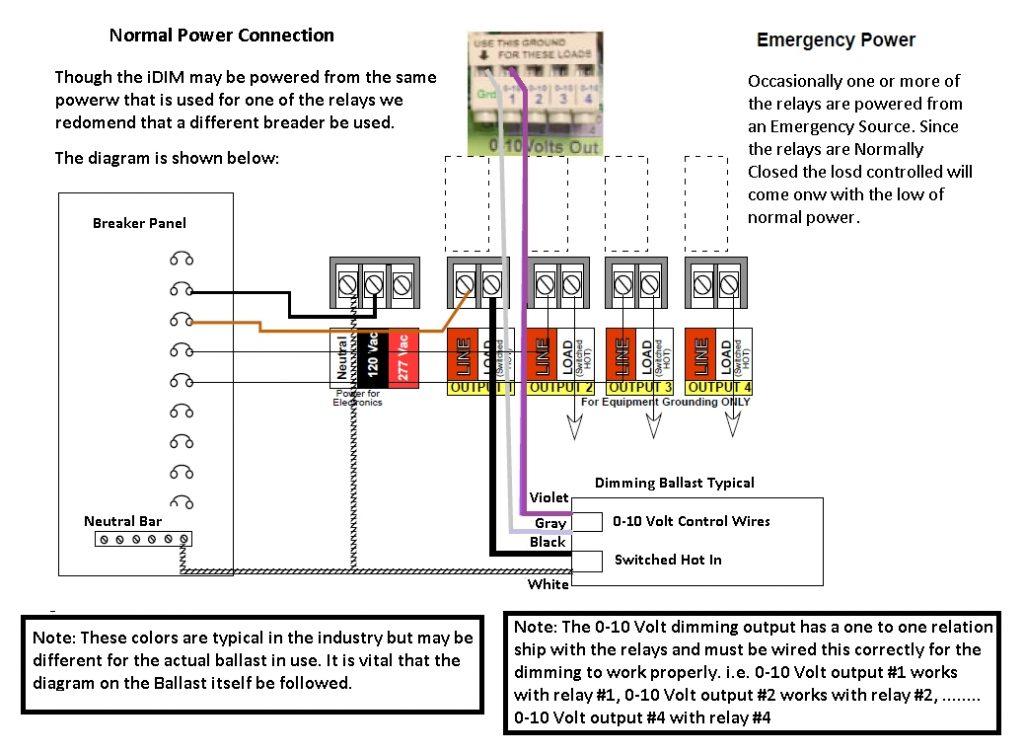 0 10 Volt Dimming Wiring Diagram | Autowiringdiagram   0 10 Volt Dimming Wiring Diagram
