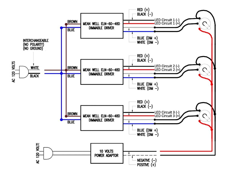 0 10V Dimming Wiring Diagram Led Downlight - Wiring Diagrams - 0 10 Volt Dimming Wiring Diagram
