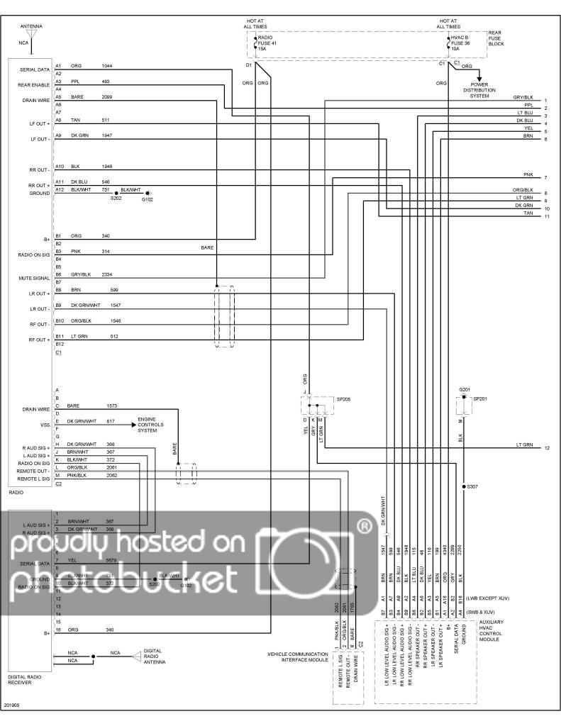 01 Yukon Stereo Wire Diagram | Wiring Diagram - 2005 Chevy Impala Radio Wiring Diagram