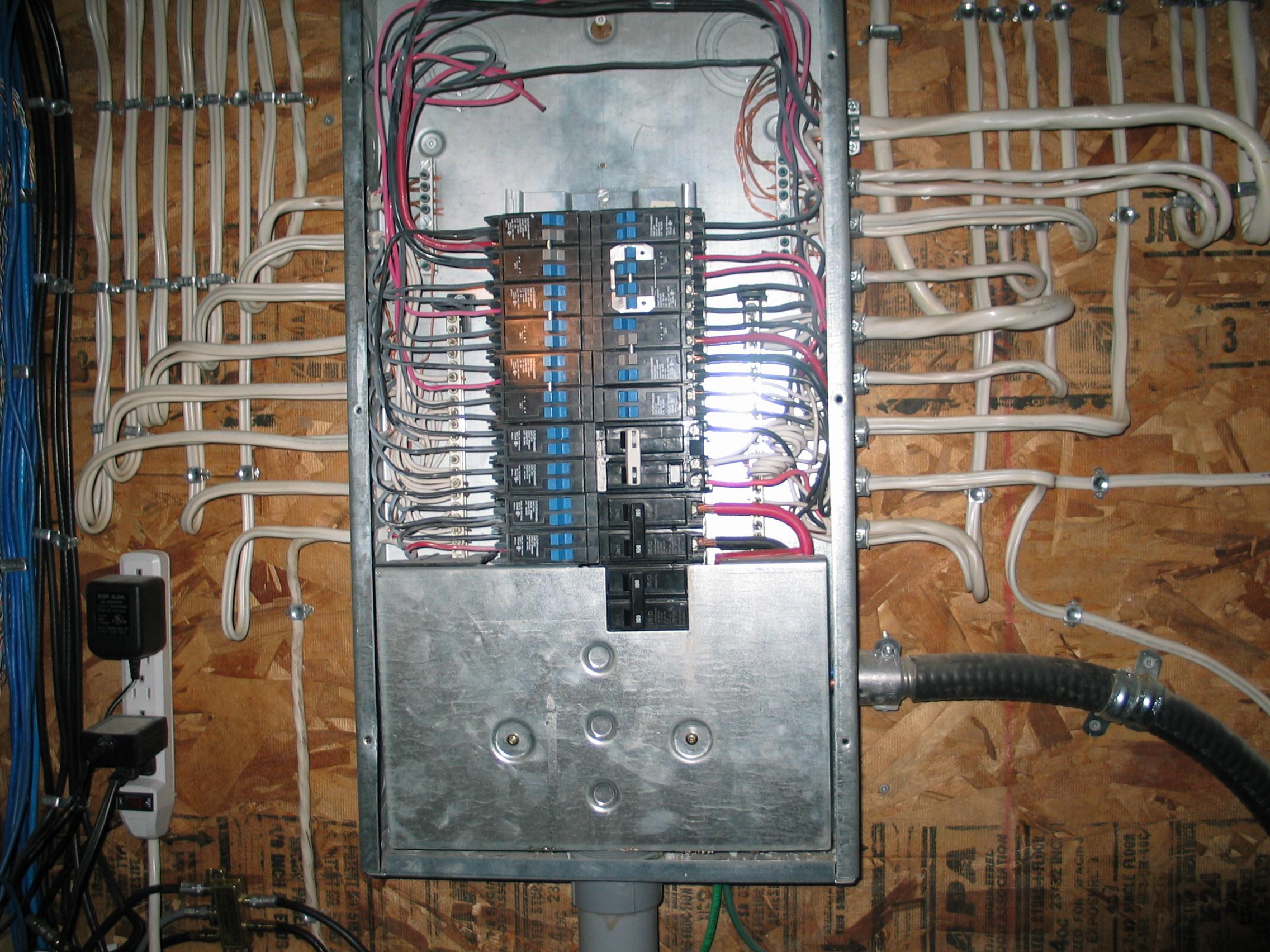 100 Amp Electrical Panel Wiring Diagram | Wiring Diagram - 100 Amp Electrical Panel Wiring Diagram