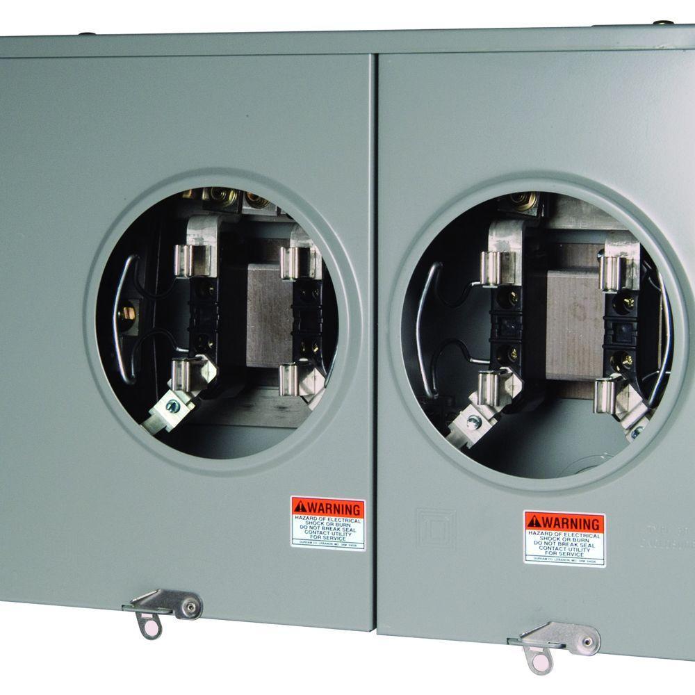100 Amp Meter With Breaker Box Wiring Diagram   Wiring Diagram - Square D 100 Amp Panel Wiring Diagram