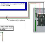 100 Amp Sub Panel Box Wiring Diagram   Wiring Diagram Explained   Sub Panel Wiring Diagram