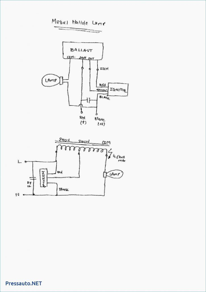 wiring diagram for sodium vapor light sodium vapor lighting wiring diagram - wiring diagram and ...