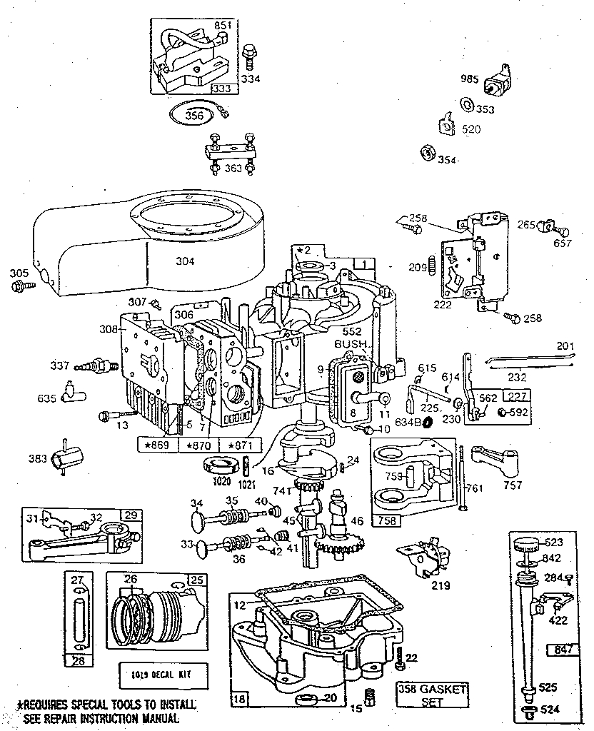 11 Hp Briggs Wiring Diagram - Wiring Diagrams Hubs - Briggs And Stratton 18 Hp Twin Wiring Diagram