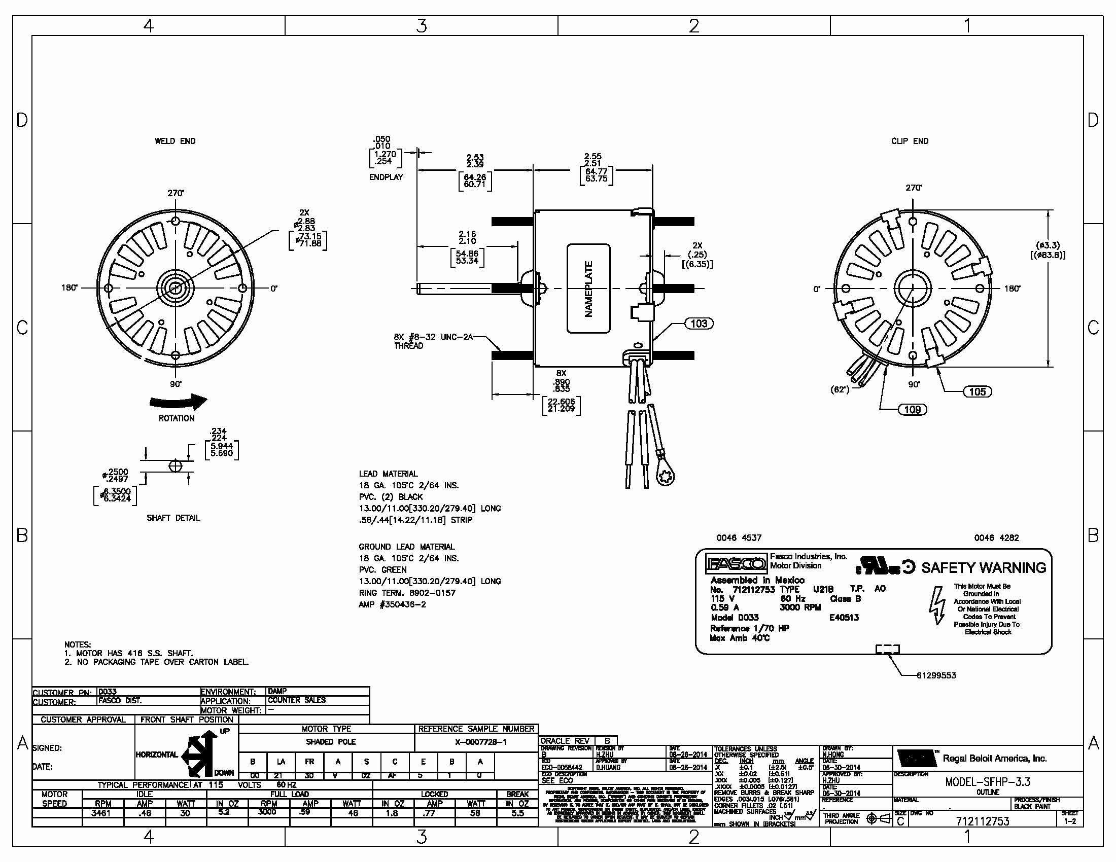 110 Volt Wiring Diagram Smith Jones   Wiring Diagram - A.o.smith Motors Wiring Diagram