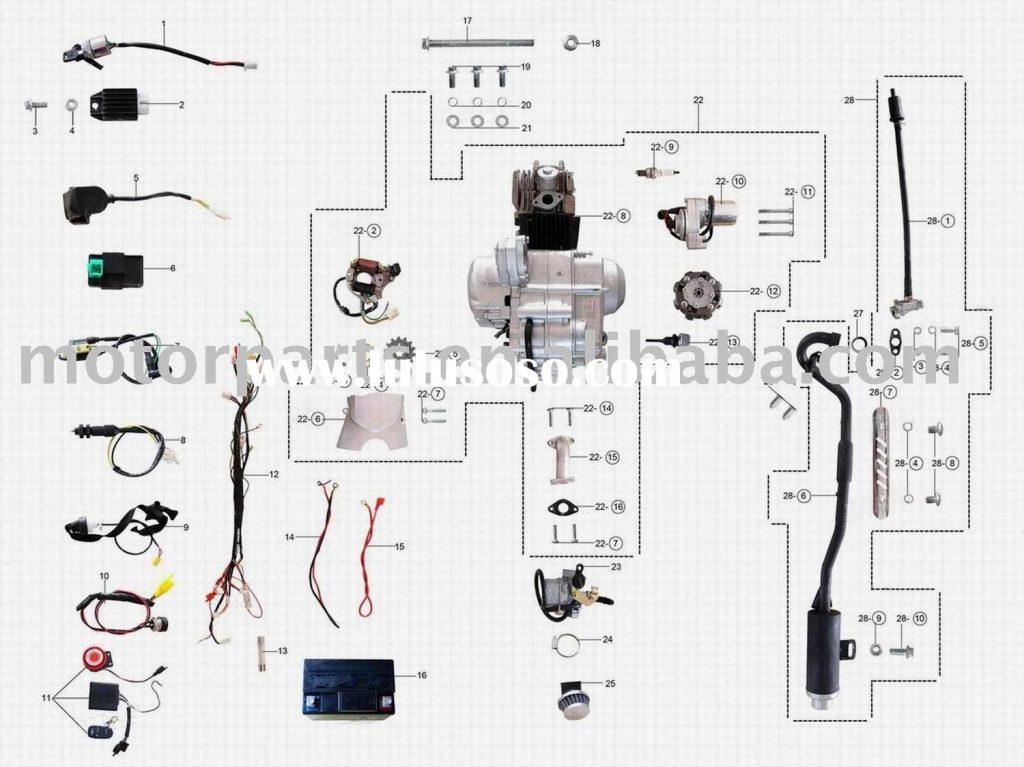 110 Wiring Diagram | Wiring Diagram   110Cc Atv Wiring Diagram