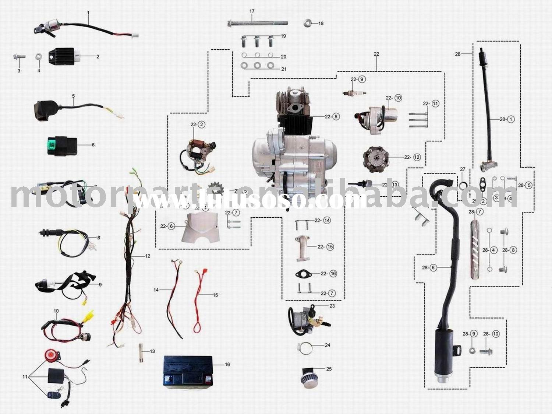 110 Wiring Diagram | Wiring Diagram - 110Cc Atv Wiring Diagram