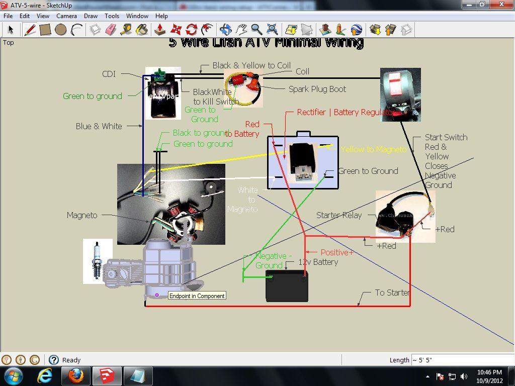 110Cc Atv Cdi Wiring Diagram | Wiring Diagram   110Cc Atv Wiring Diagram