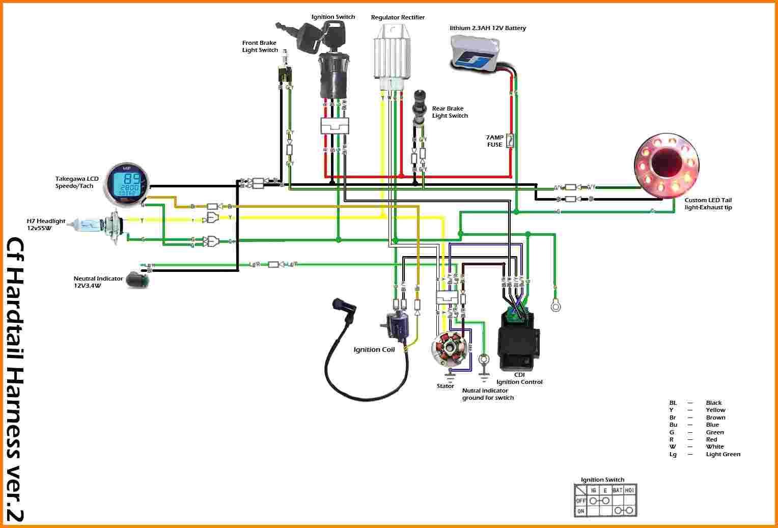 110Cc Wiring Harness | Wiring Diagram - 110Cc Atv Wiring Diagram