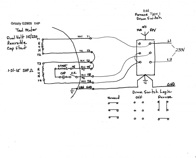 115 Volt Ac Motor Wiring - Wiring Diagrams Thumbs - Baldor Motor Wiring Diagram