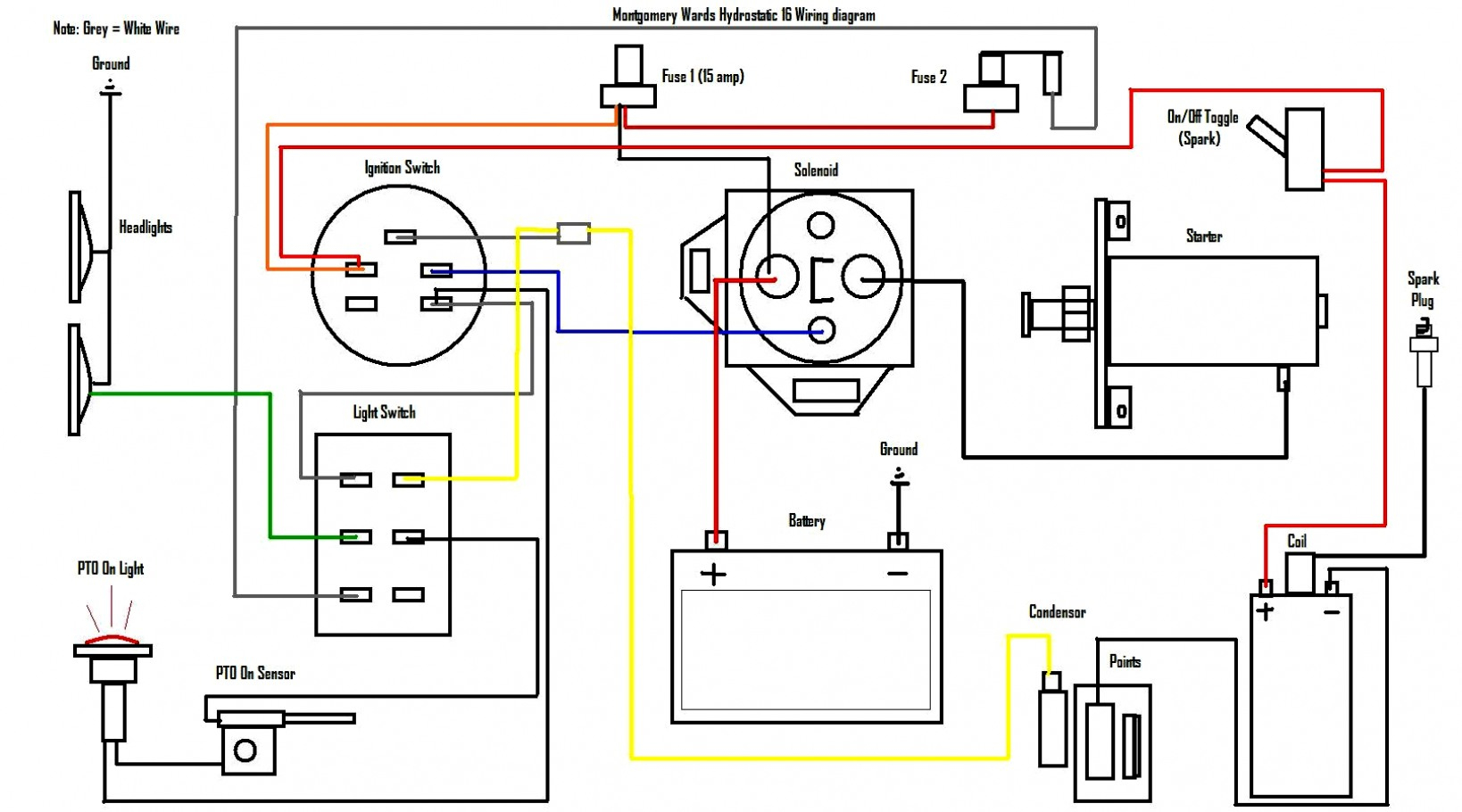 12 Hp Briggs And Stratton Wiring Diagram | Wiring Diagram - Briggs And Stratton Wiring Diagram 16 Hp