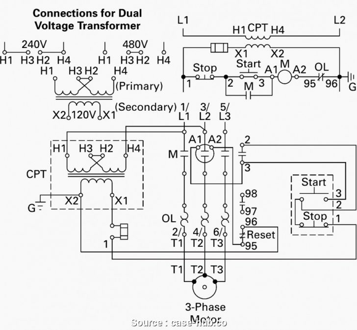 12 Lead Motor Wiring Diagram