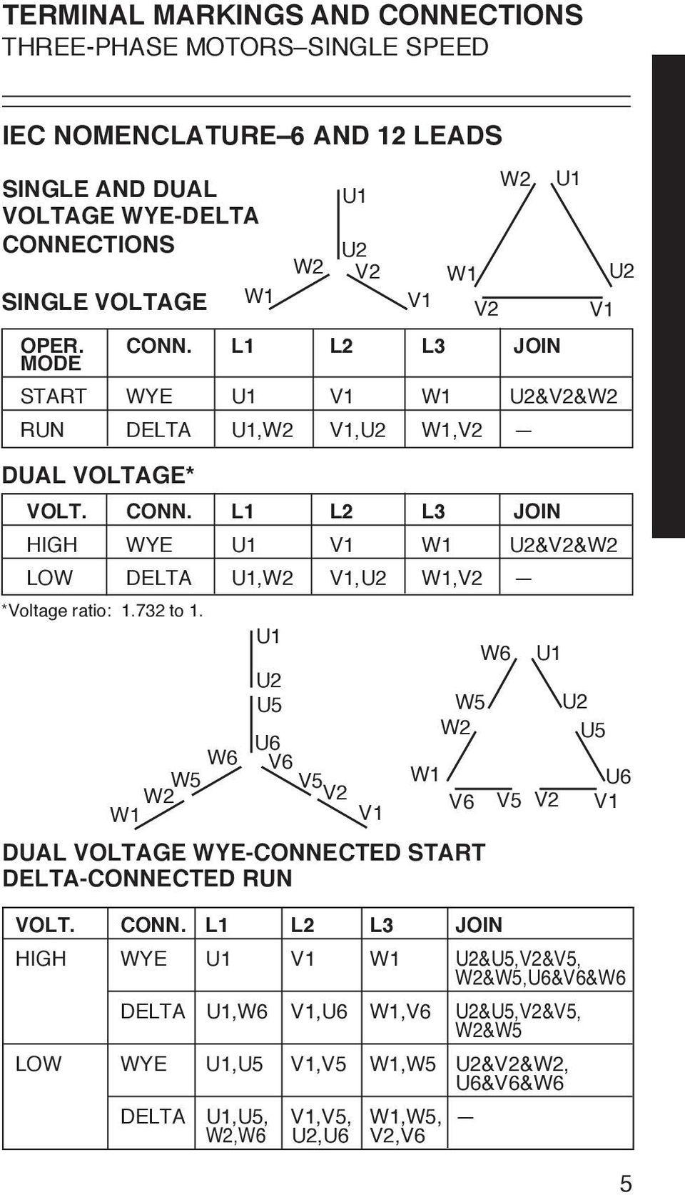 12 Lead Motor Wiring Diagram Iec | Manual E-Books - 3 Phase Motor Wiring Diagram 12 Leads