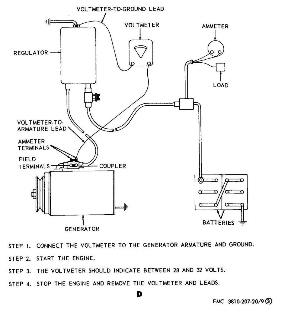 12 Volt Generator Voltage Regulator Wiring Diagram   Tractor Gen   12 Volt Generator Voltage Regulator Wiring Diagram