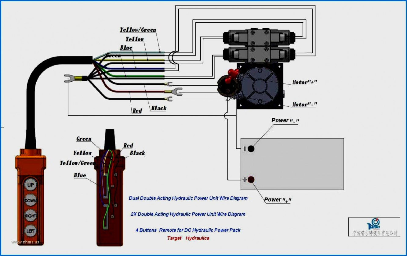 Incredible 12 Volt Hydraulic Pump Wiring Diagram 12V Power Pack Simplex 12 Wiring 101 Cranwise Assnl
