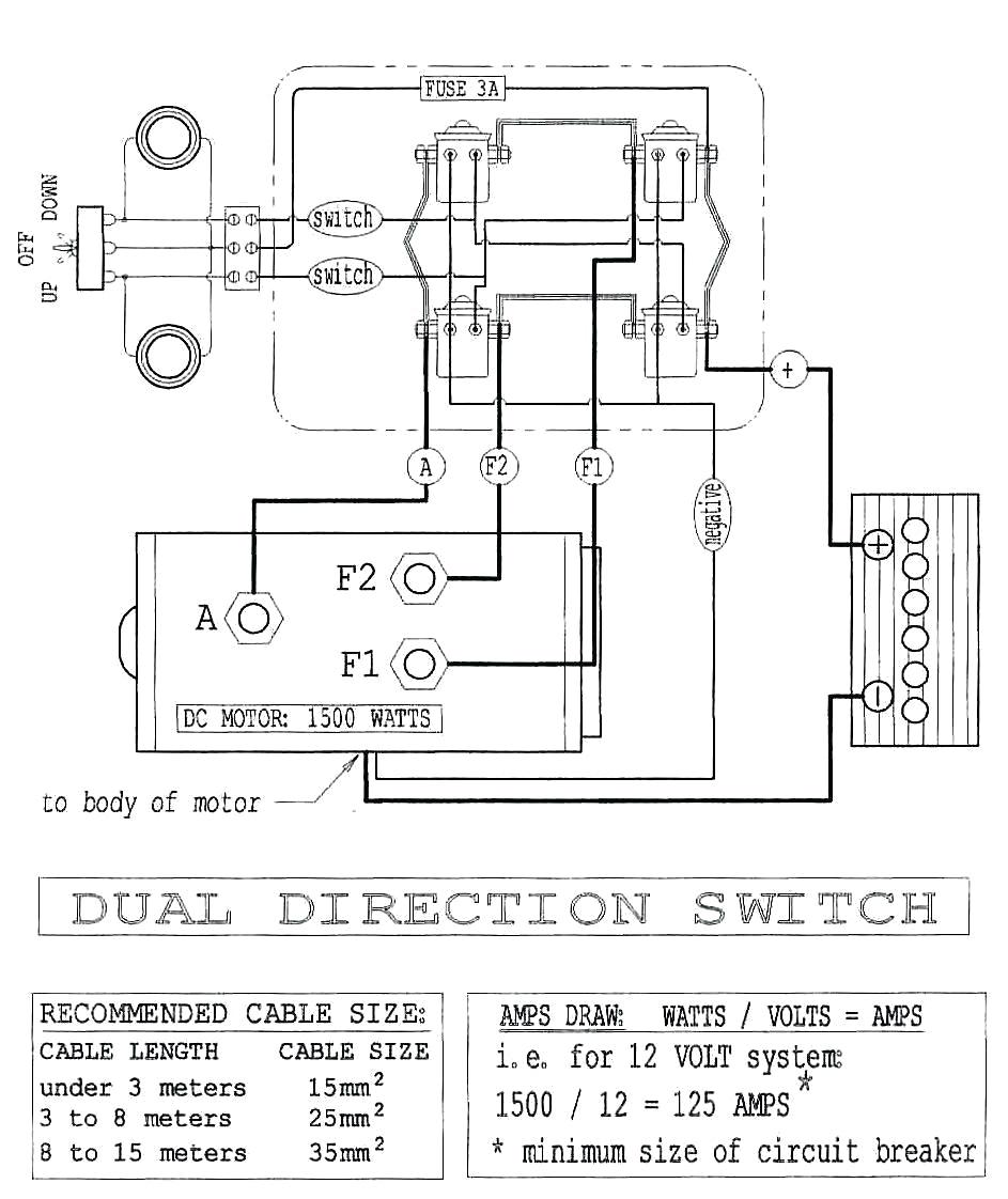 12 Volt Powerwinch Wiring Diagram   Manual E-Books - Solenoid Wiring Diagram