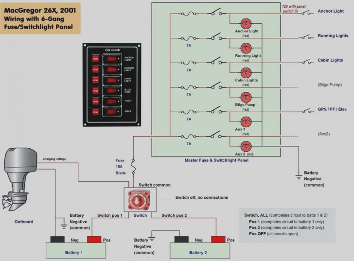 12V Switch Panel Wiring Diagram