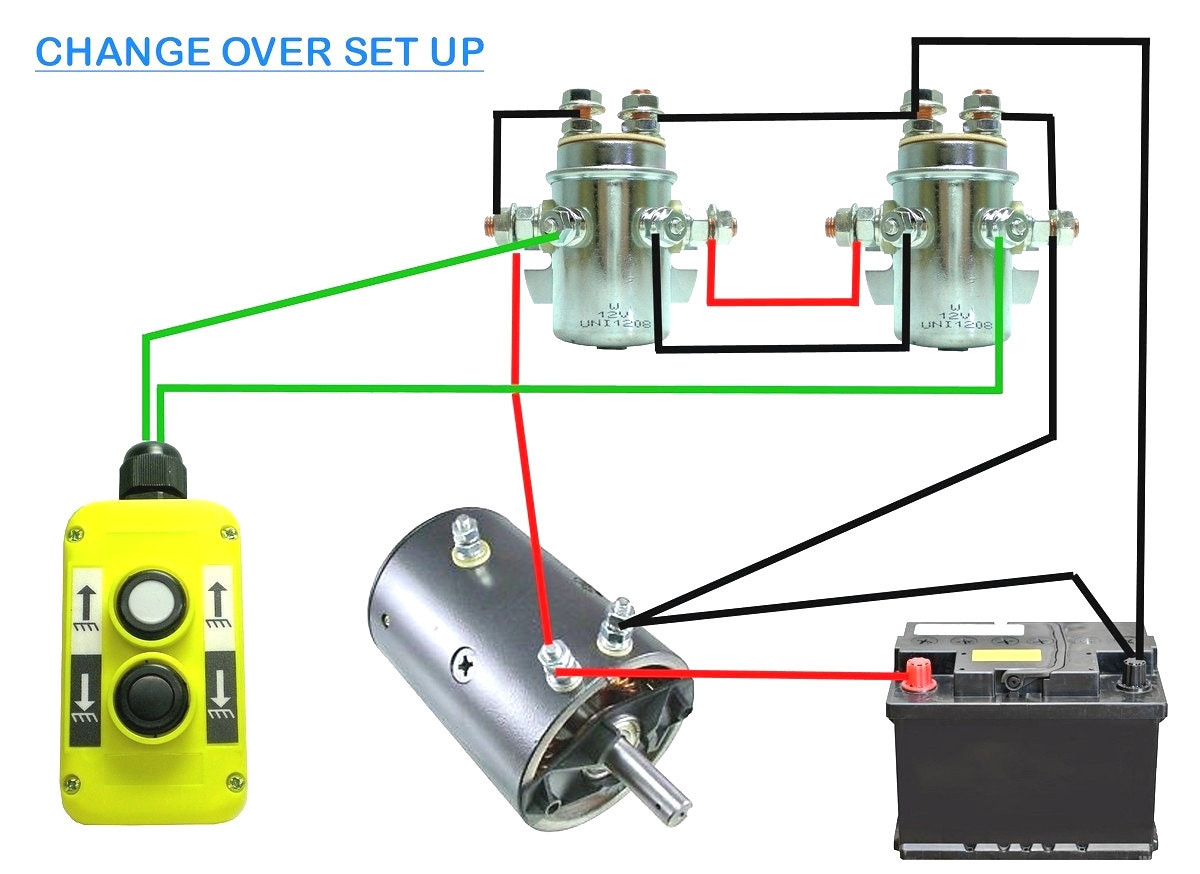 12 Volt Winch Solenoid Wiring Diagram | Manual E-Books - 12 Volt Winch Solenoid Wiring Diagram