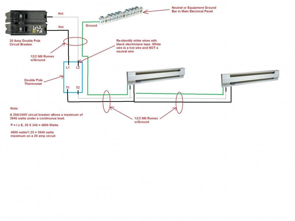 diy wiring diagrams 240 wiring diagram automotive240v electric baseboard heat wiring diagram electrical diy wiring