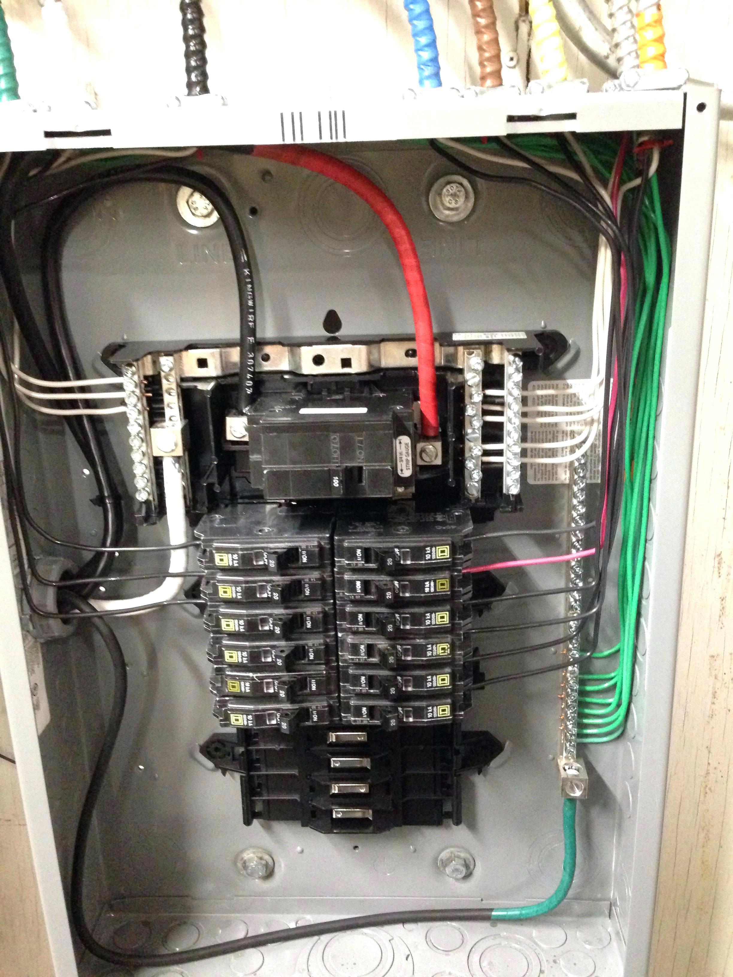 125 Amp Main Breaker Panel Wiring Diagram | Manual E-Books - 125 Amp Sub Panel Wiring Diagram