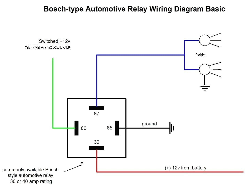 12V 5 Pin Relay Wiring Diagram - Webtor - 12V Relay Wiring Diagram 5 Pin