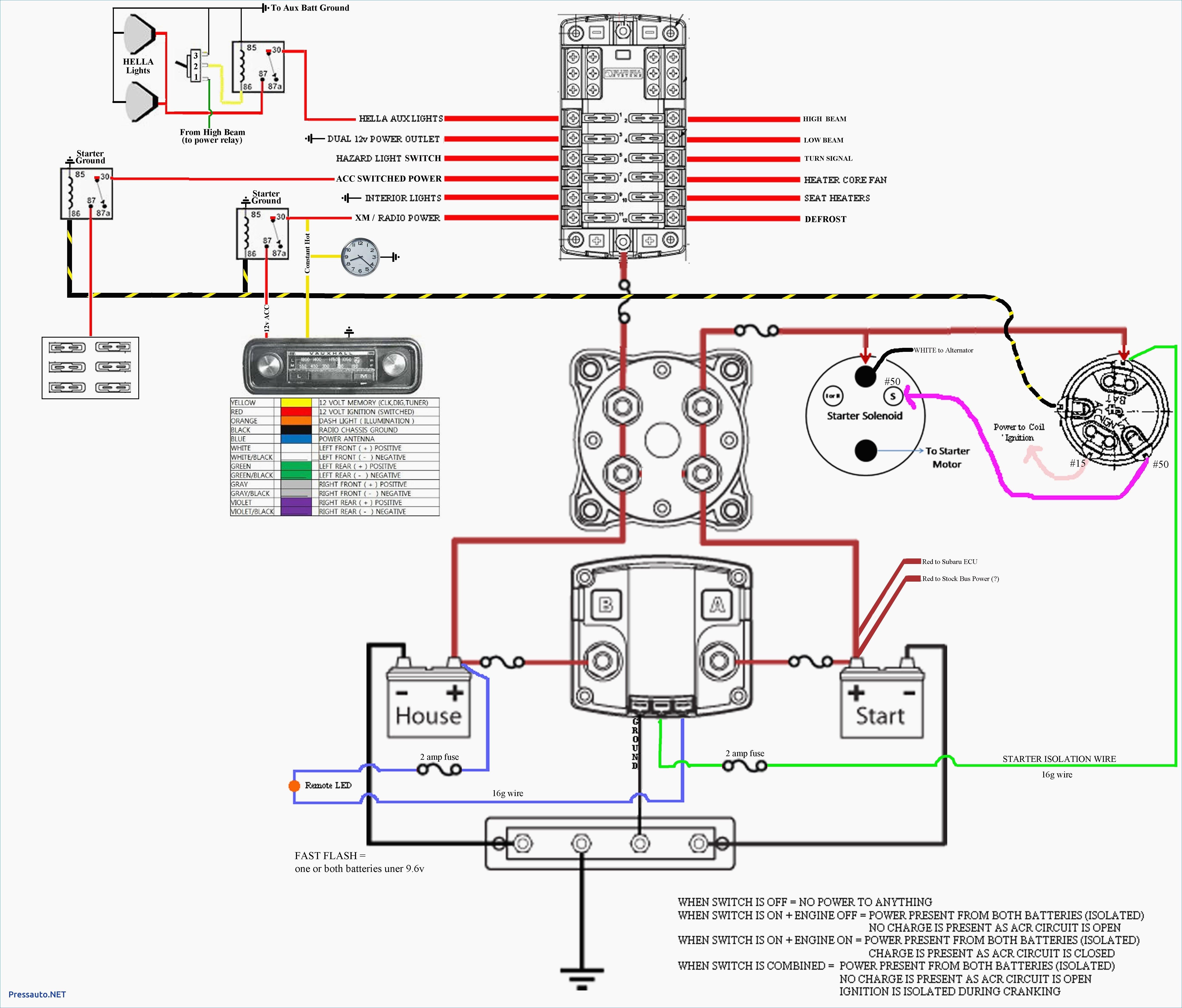 12V Battery Isolator Wiring Diagram Sure Power Battery Isolator - Sure Power Battery Isolator Wiring Diagram