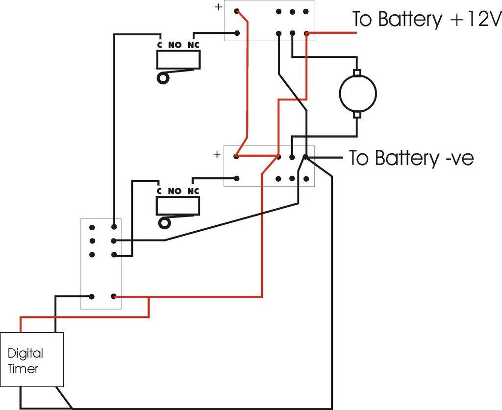 12V Motor Diagram - Simple Wiring Diagram - 12 Volt Relay Wiring Diagram