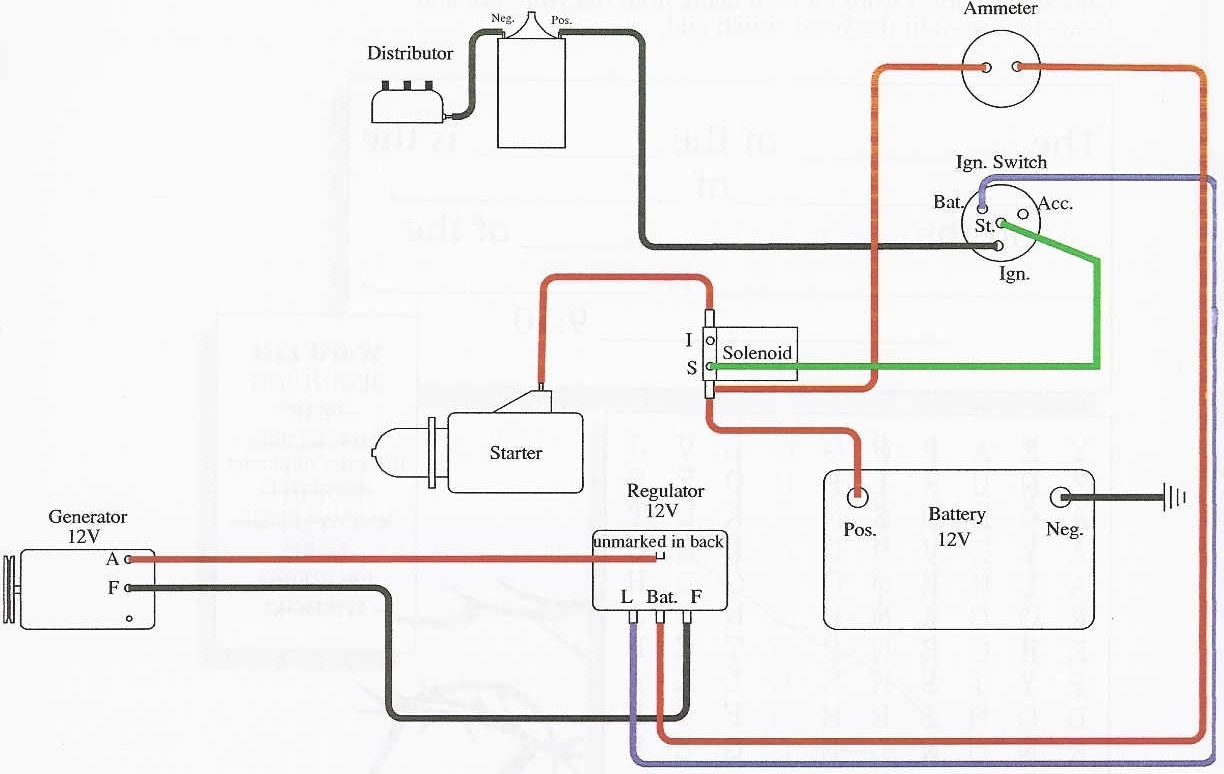 1948 Ford 8N Wiring Diagram For 6Volt - Data Wiring Diagram Today - 8N Ford Tractor Wiring Diagram 12 Volt