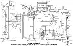 1964 Mustang Wiring Harness   Wiring Diagrams Hubs   65 Mustang Wiring Diagram