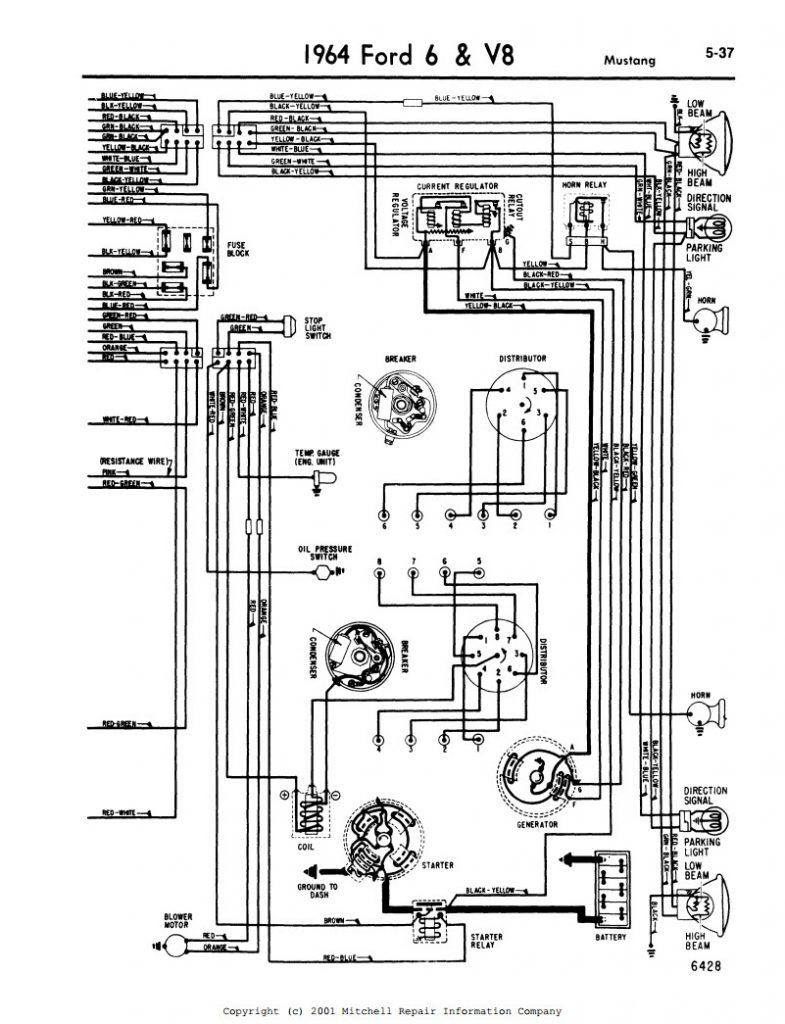 1964 ford ranchero wiring diagram wiring diagram