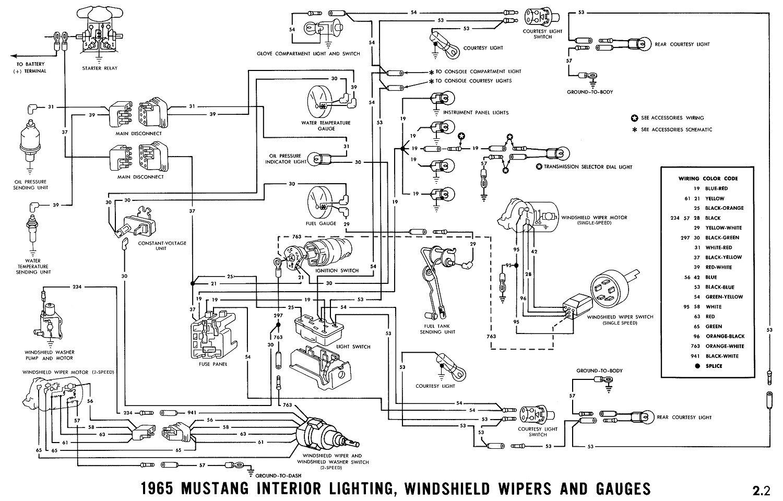 1965 Mustang Wiring Diagrams - Average Joe Restoration - 1965 Mustang Wiring Diagram