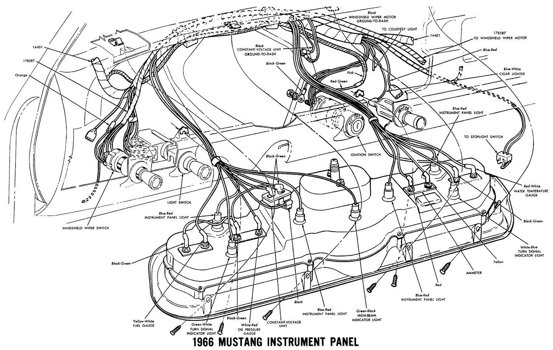 1966 Mustang Wiring Diagrams - Average Joe Restoration - 1966 Mustang Wiring Diagram