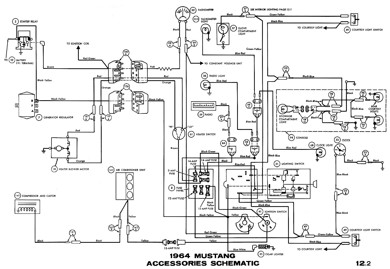 1970 Mustang Coupe Wiring Diagram - Wiring Diagrams Hubs - 65 Mustang Wiring Diagram