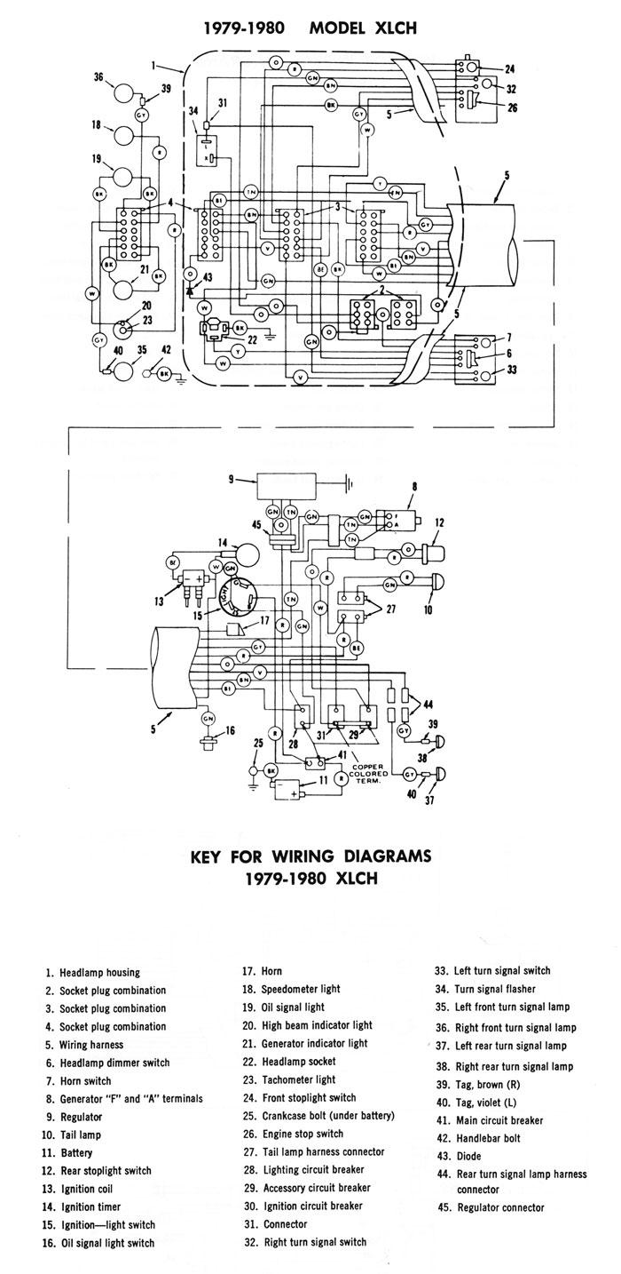 1980 Shovelhead Wiring Diagram Wiring Diagram