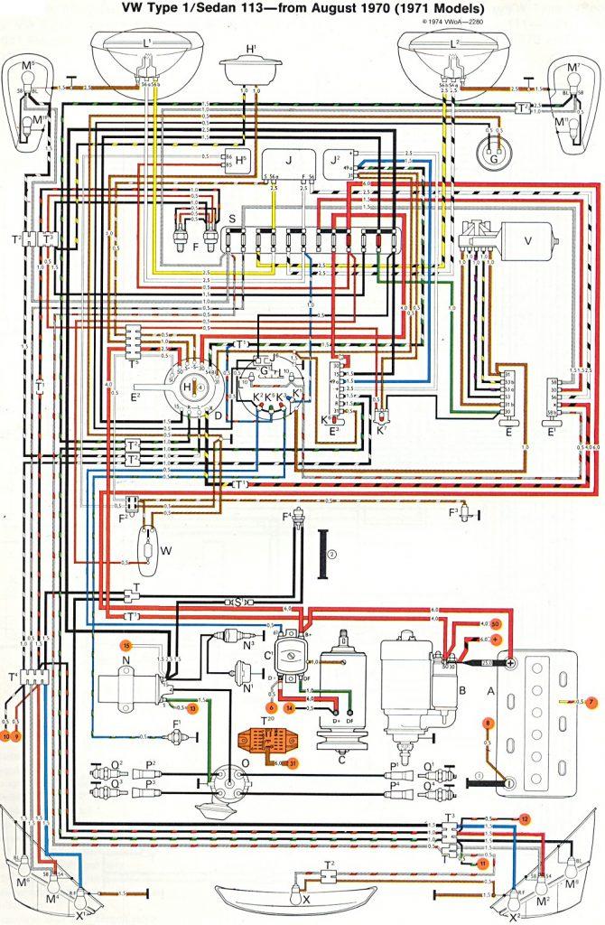 1973 Vw Beetle Wiring Diagram   Wiring Diagram   1973 Vw Beetle Wiring Diagram