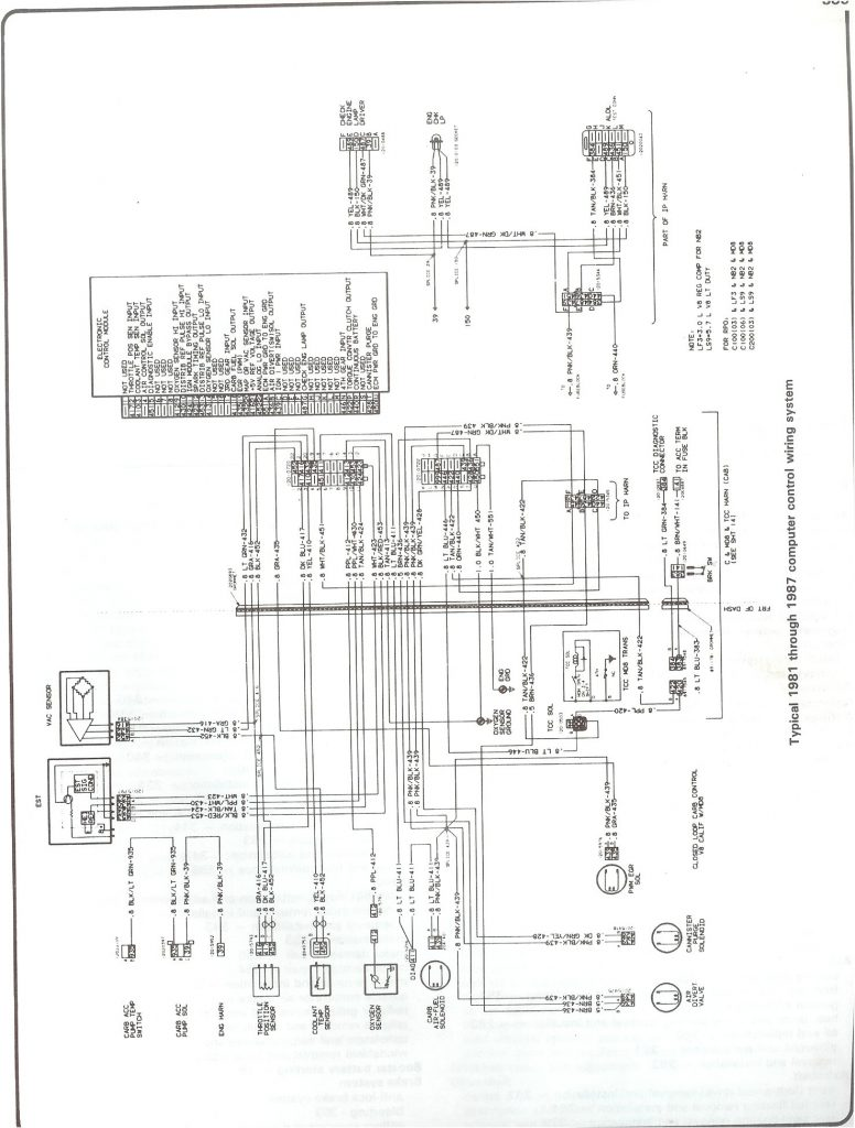 1979 Gmc Truck Wiring   Wiring Diagram Detailed   1979 Chevy Truck Wiring Diagram