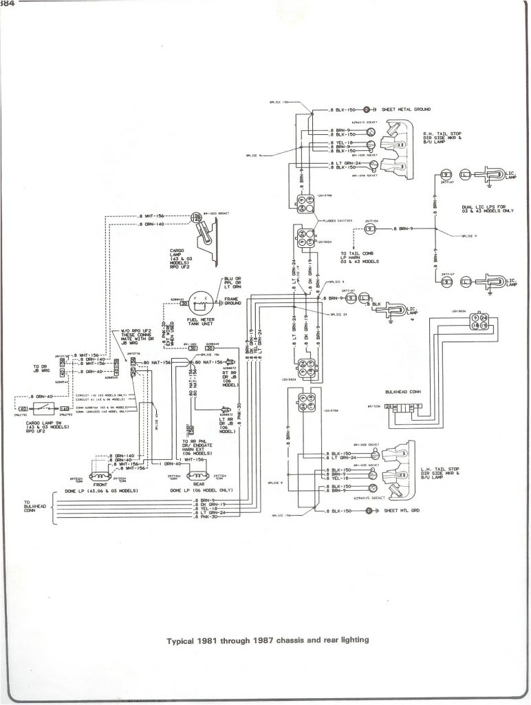 1982 Chevy Truck Wiring Harness   Wiring Diagrams Hubs   1982 Chevy Truck Wiring Diagram