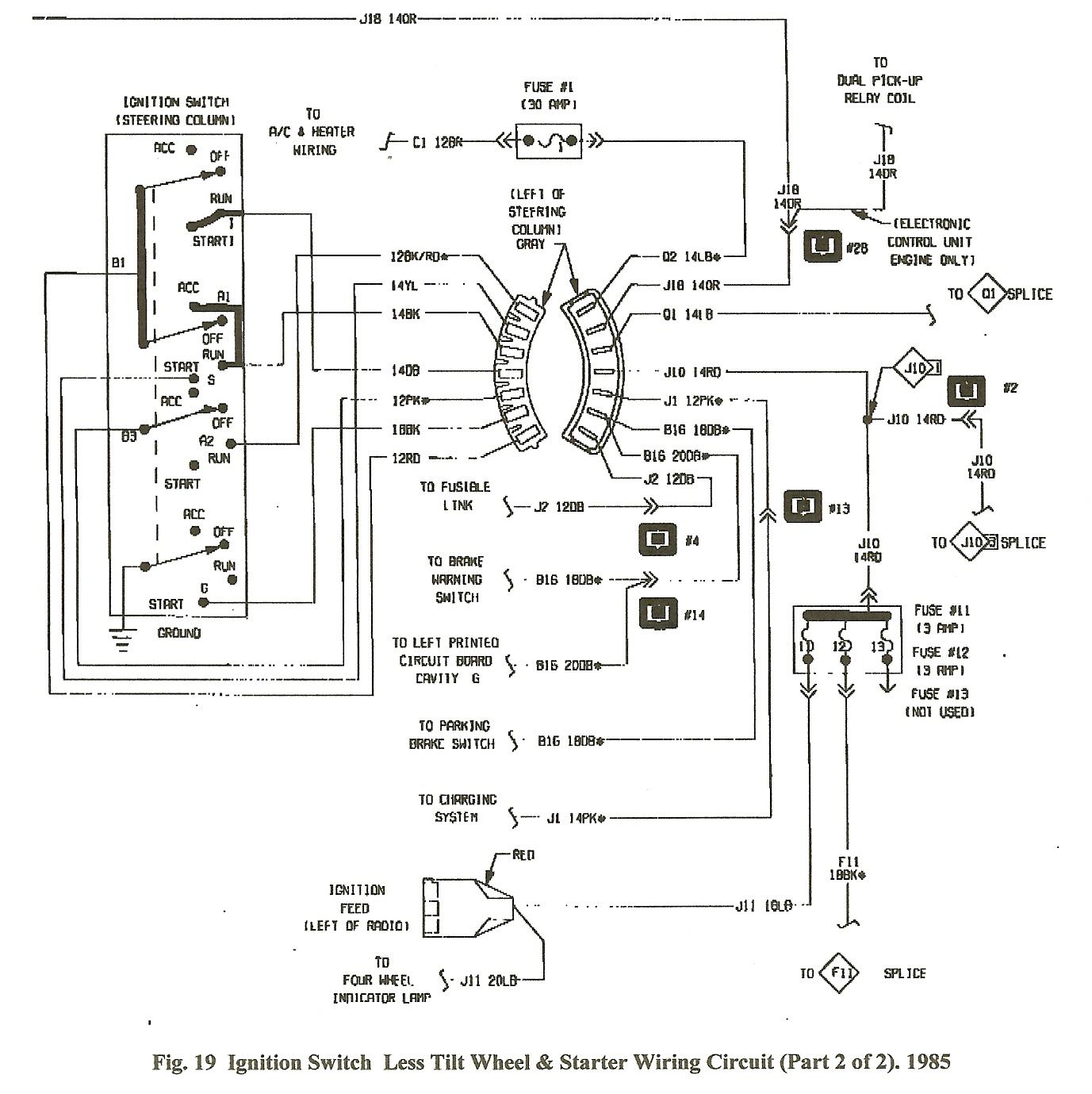 1987 Dodge Ram 150 Wiring Diagram   Manual E-Books - Dodge Ram Wiring Harness Diagram