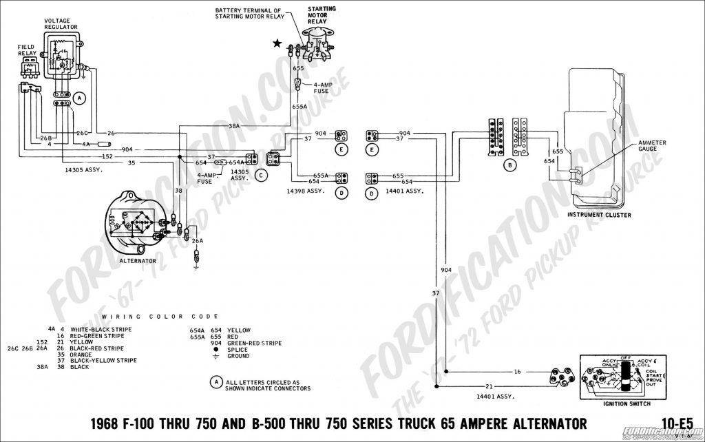 Fabulous One Wire Alternator Wiring Diagram Ford Wirings Diagram Wiring Digital Resources Honesemecshebarightsorg