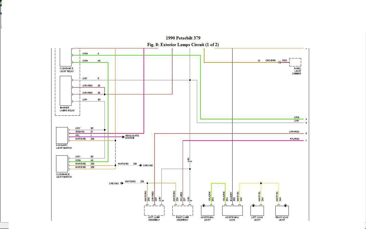 1990 Peterbilt 379 Headlight Wiring Diagram - Wiring Block Diagram - Headlight Wiring Diagram