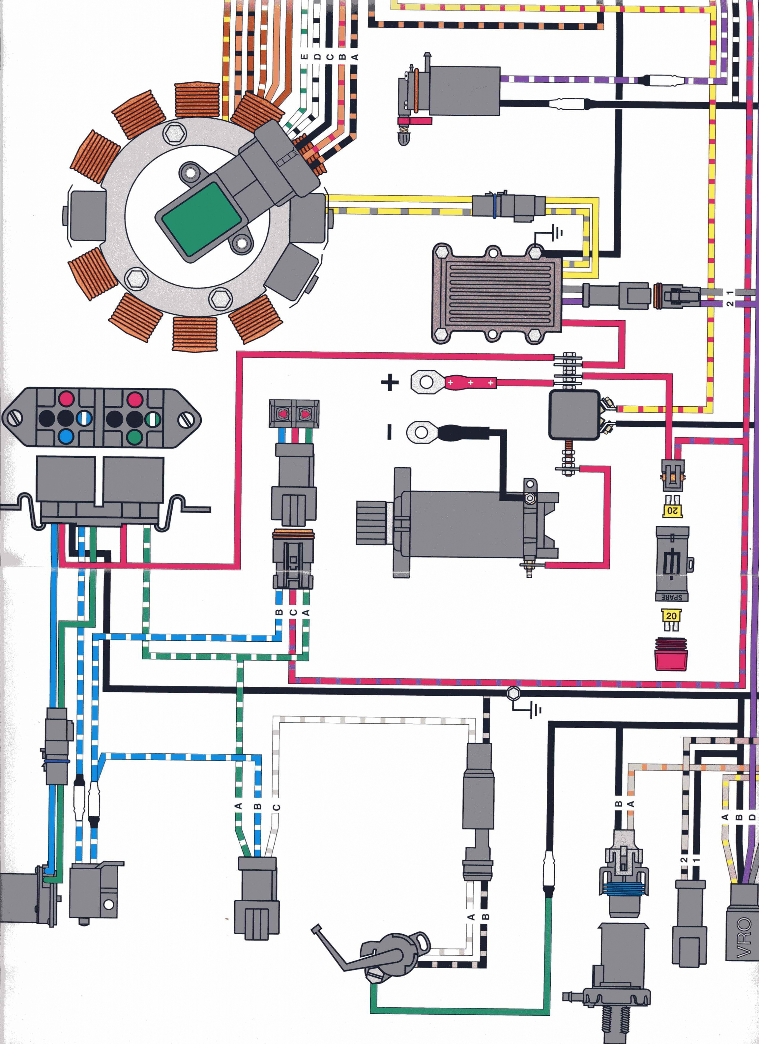 1991 Johnson 25 Hp Wiring Diagram Wiring Auto Wiring Diagrams - Johnson Outboard Wiring Diagram Pdf