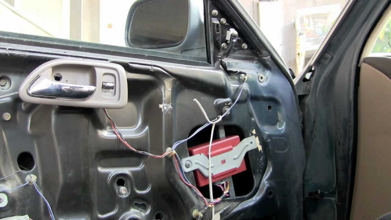 1994 Honda Accord Door Lock Control Unit Fix - Youtube - Honda Civic Wiring Harness Diagram