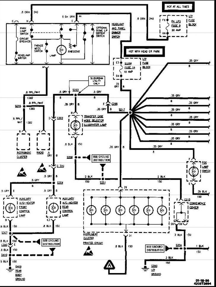 1997 Chevy Silverado Alternator Wiring Diagram