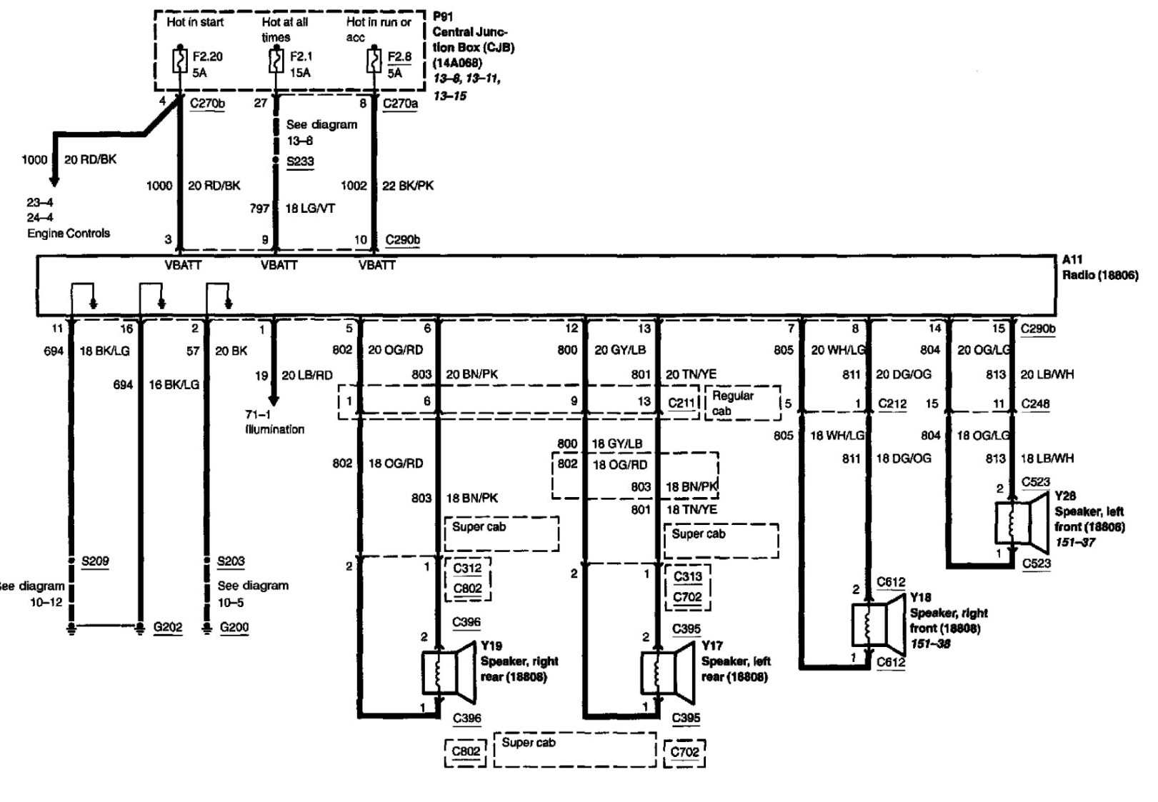 1998 Ford Expedition Radio Wiring Diagram With F150 Speaker New And - 1998 Ford F150 Radio Wiring Diagram