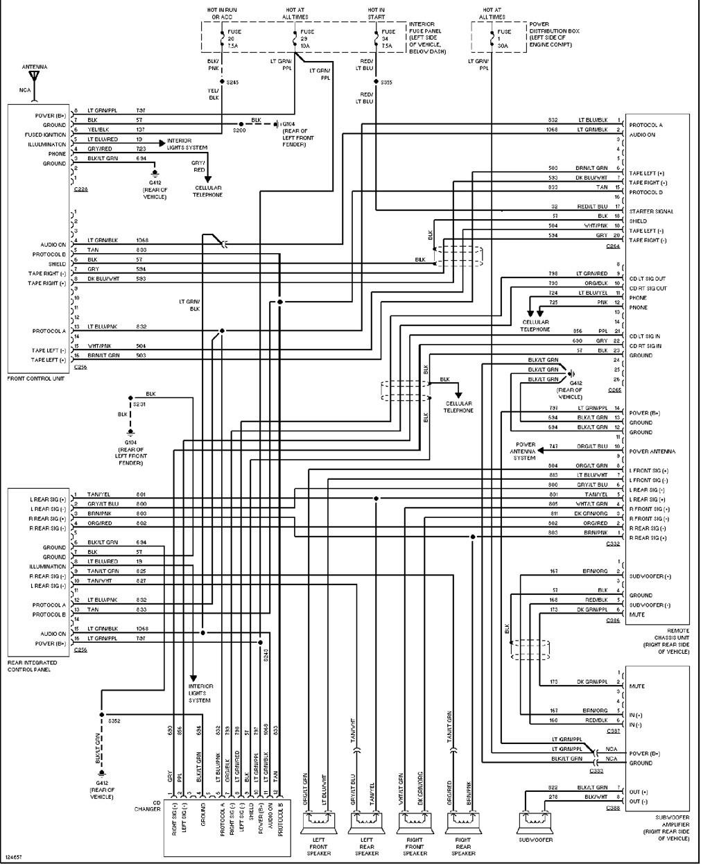 1998 Ford F150 Pickup Truck Car Radio Wiring Diagram 1998 Ford F150 - 1998 Ford F150 Radio Wiring Diagram