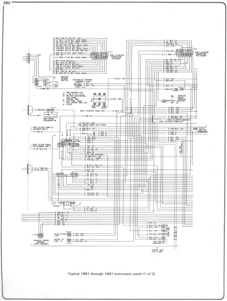 1999 Chevrolet P30 Wiring Diagram   Wiring Diagrams Hubs   1985 Chevy Truck Wiring Diagram