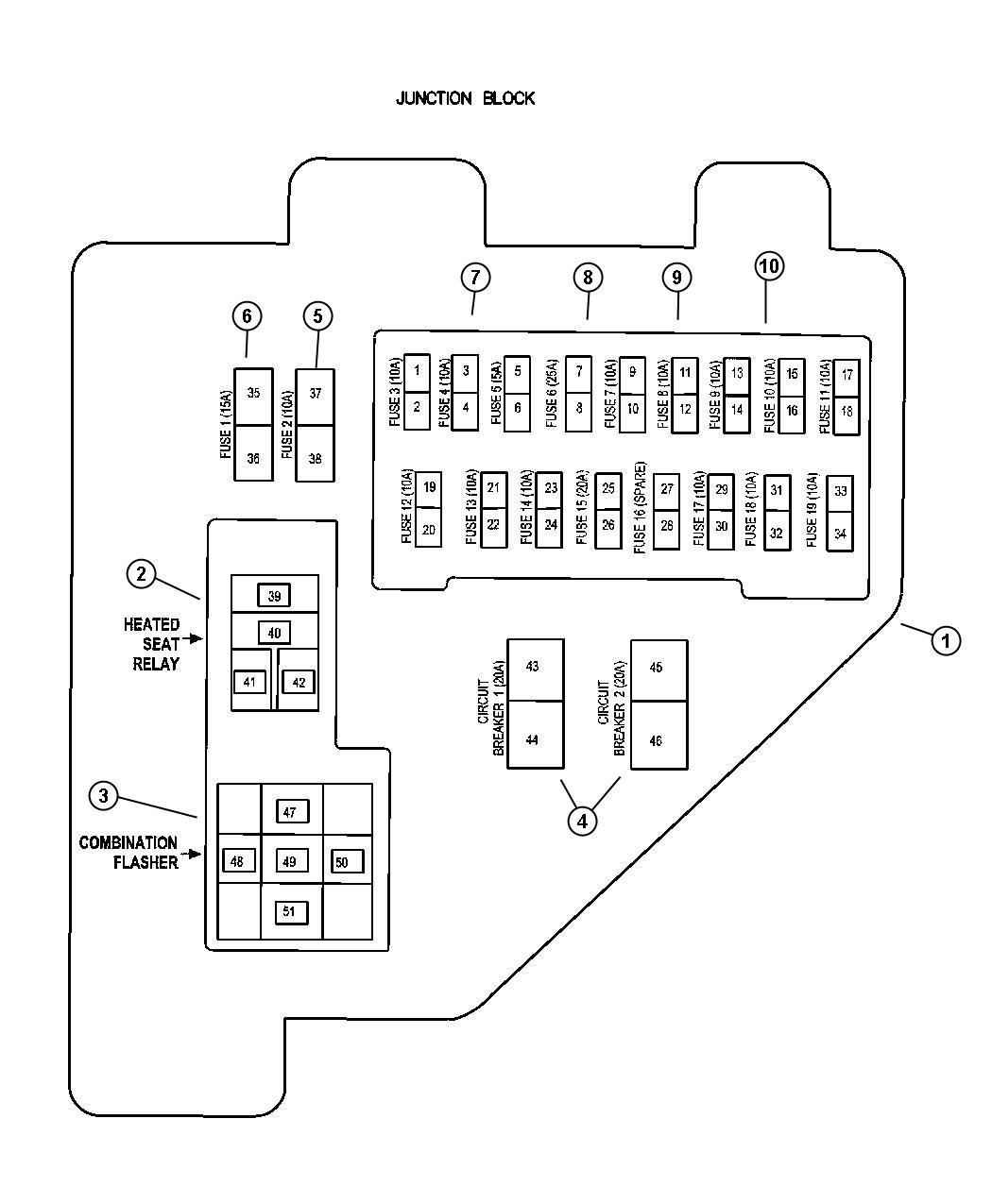 1999 Dodge Ram Fuse Box Diagram Turn - Wiring Diagram Data - 99 Dodge Ram Headlight Wiring Diagram