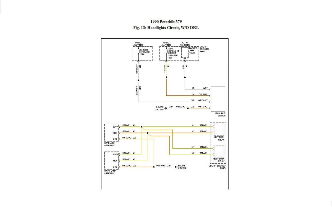 1999 Peterbilt Wiring Diagram | Wiring Library - Peterbilt 379 Wiring Diagram