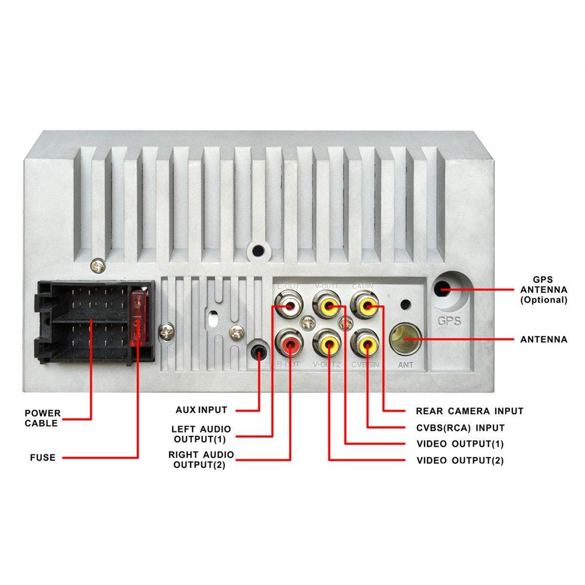 2 Din Wiring Diagram | Manual E-Books - 7010B Stereo Wiring Diagram