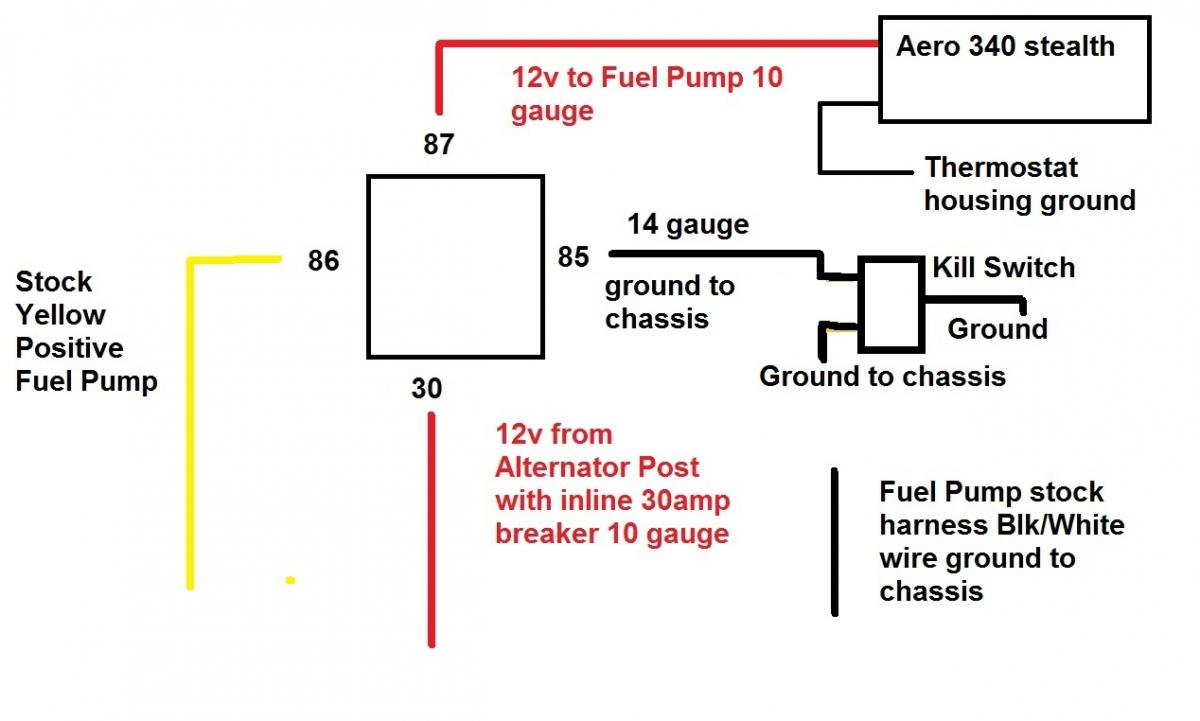 2 Fuel Pump Wiring - Data Wiring Diagram Detailed - Electric Fuel Pump Wiring Diagram